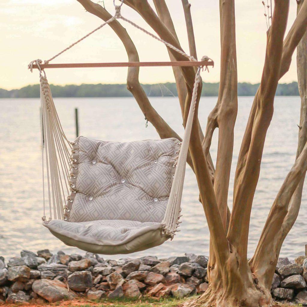 hammock swing in tree